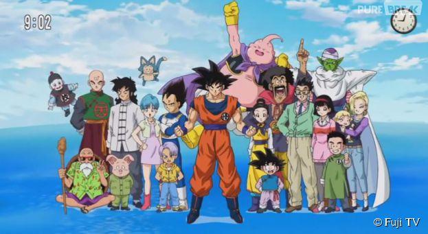 Dragon Ball Super est diffusé sur Fuji TV depuis le 5 juillet 2015