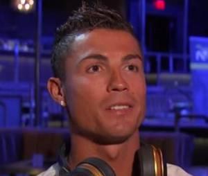 Cristiano Ronaldo énervé en interview à Las Vegas