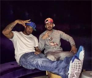 Karim Benzema, nouvel ami des stars aux USA : ici avec Booba