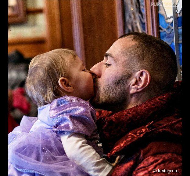 Karim Benzema papa gaga avec sa fille Mélia