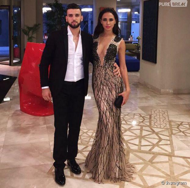 Leila Ben Khalifa et Aymeric Bonnery en couple sur Instagram, le 4 juillet 2015