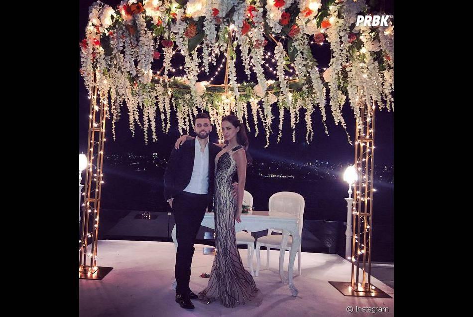 Leila Ben Khalifa et Aymeric Bonnery teasent un mariage sur Instagram, le 4 juillet 2015