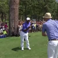 Justin Timberlake et Alfonso Ribeiro : une danse à la Carlton en plein tournoi de golf !