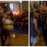 Obsédée par le bouquet de la mariée, cette femme fait tomber son bébé !