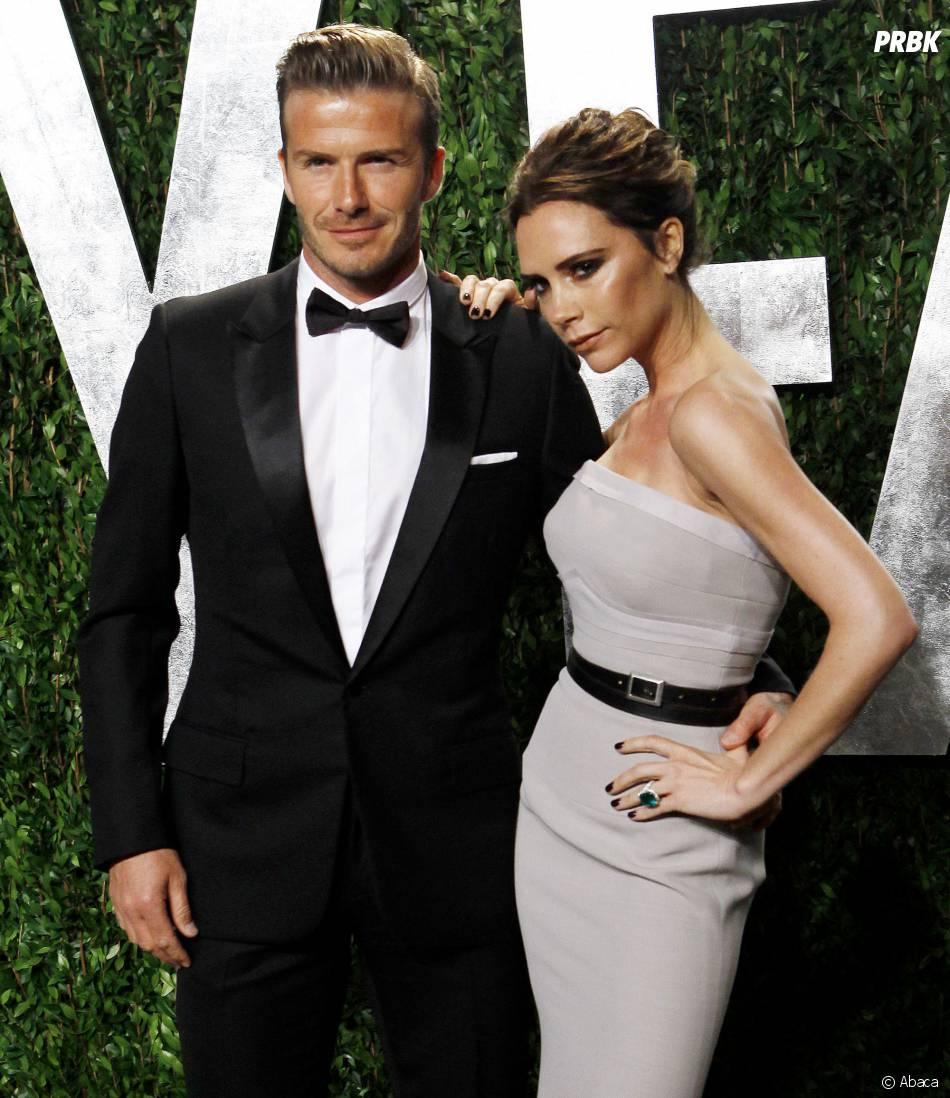 David et Victoria Beckham, un couple glamour sur le tapis rouge