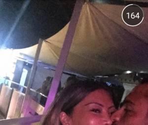 Les Marseillais en Thaïlande : Parisa et Julien s'embrassent encore sur Snapchat, le 23 juillet 2015
