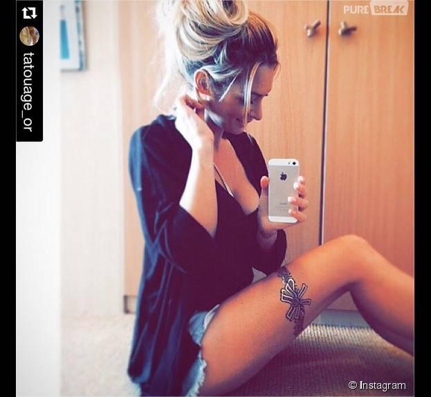 Emilie Nef Naf : sexy sur Instagram pour vendre ses tatouages éphémères