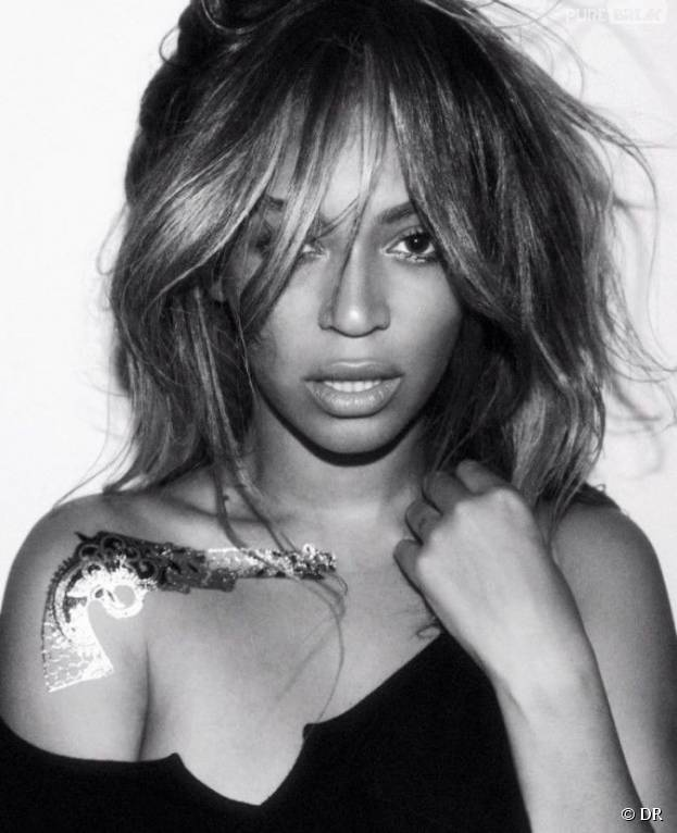 Beyoncé affiche ses tatouages éphémères