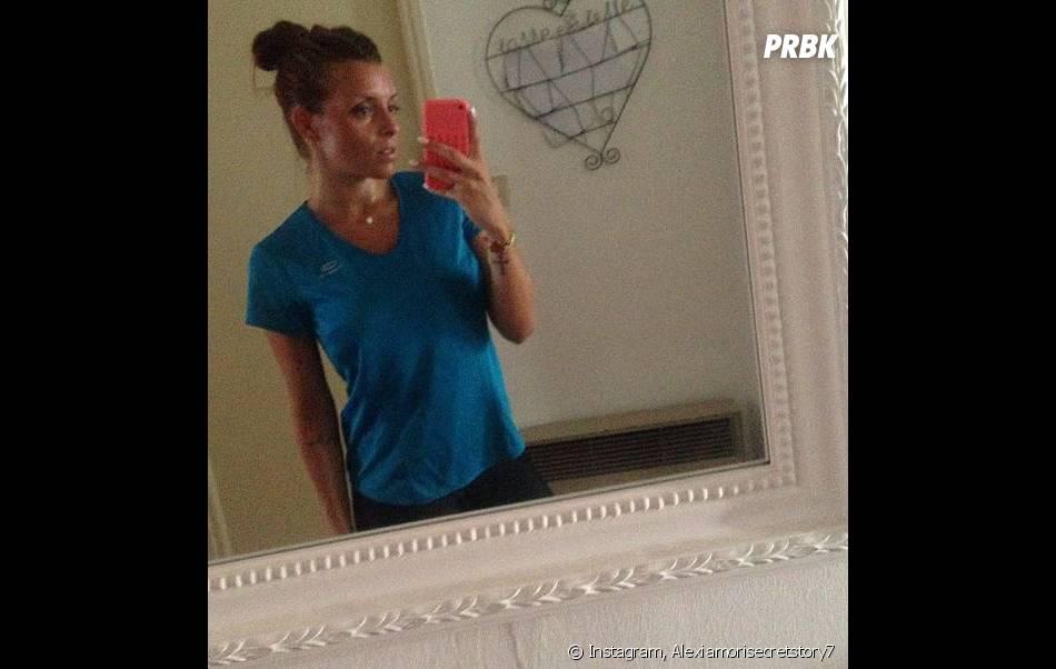 Alexia Mori, une grande sportive