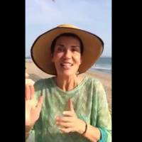 "Cristina Cordula au naturel sur Facebook : ""magnifaïk"" sans maquillage"
