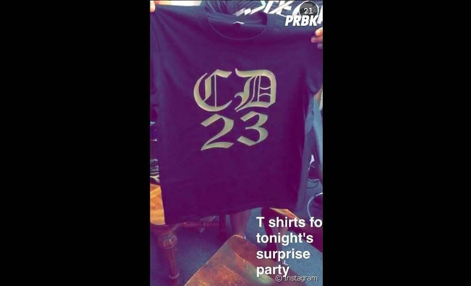 Cara Delevingne : un t-shirt spécial pour ses 23 ans