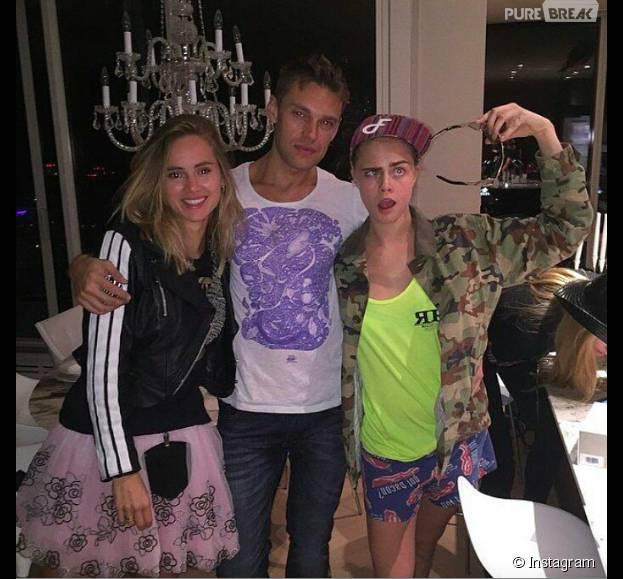 Cara Delevingne : une fête d'anniversaire grandiose pour ses 23 ans avec Suki Waterhouse et sa copine St. Vincent