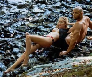 Tatiana Laurens et Xavier Delarue sexy pour un shooting de Jean-Luc Michon