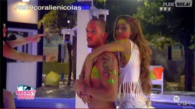 Coralie et Nicolas, premier couple de Secret Story 9 ?