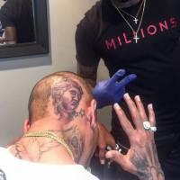 Chris Brown : son nouveau tatouage XXL très critiqué sur Instagram