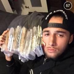 Tarek Benattia pose avec ses billets sur Snapchat : Swagg Man n'a qu'à bien se tenir