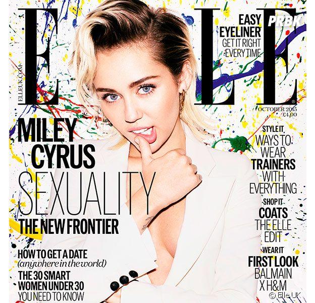 Miley Cyrus dément être en couple dans Elle UK
