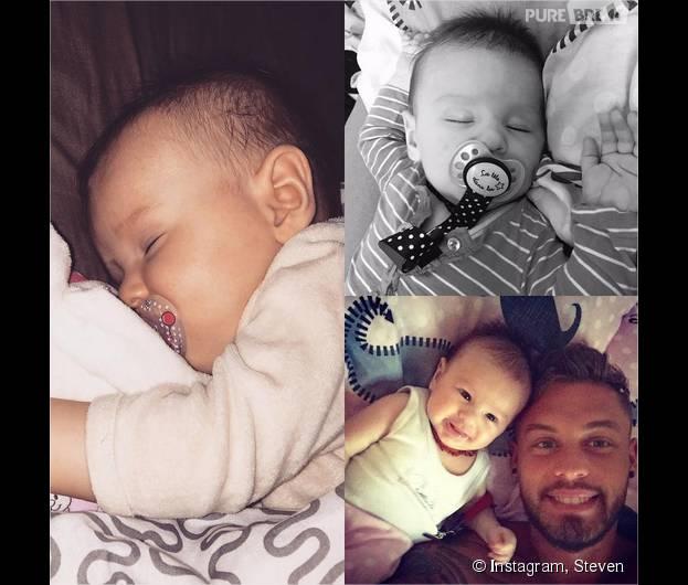 Steven (Les Anges 7) : il présente sa fille Lyvia sur Instagram