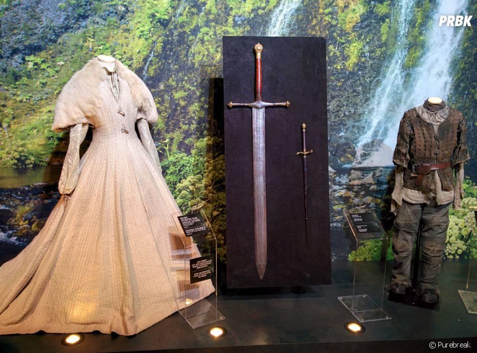 Game of Thrones : L'Exposition : des tenues portées par Sansa et Arya Stark