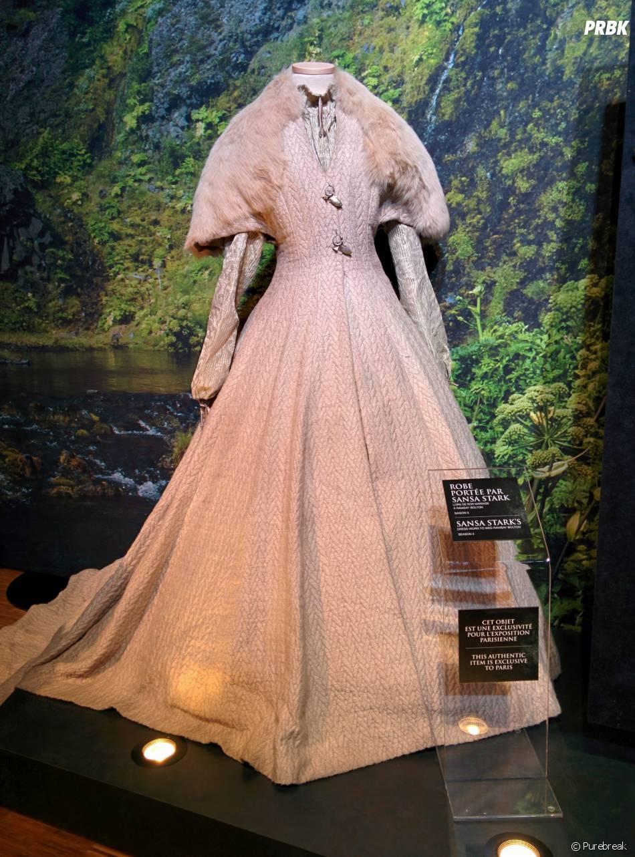 Game of Thrones : L'Exposition : une tenue de Sansa Stark