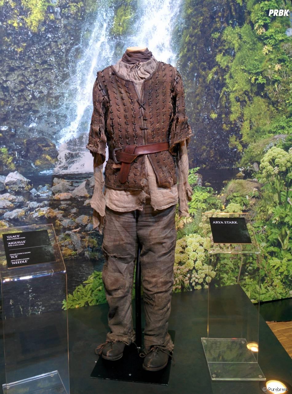 Game of Thrones : L'Exposition : la tenue d'Arya Stark