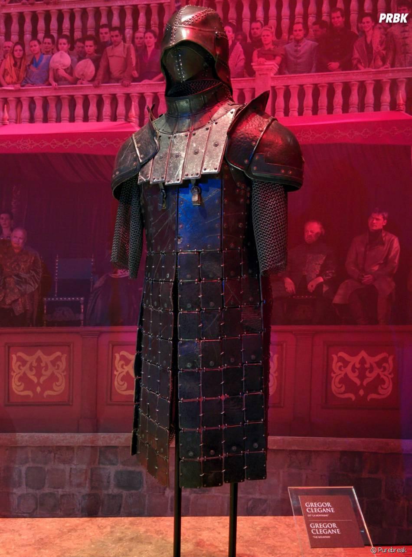 Game of Thrones : L'Exposition : une tenue portée par Gregor Clegane
