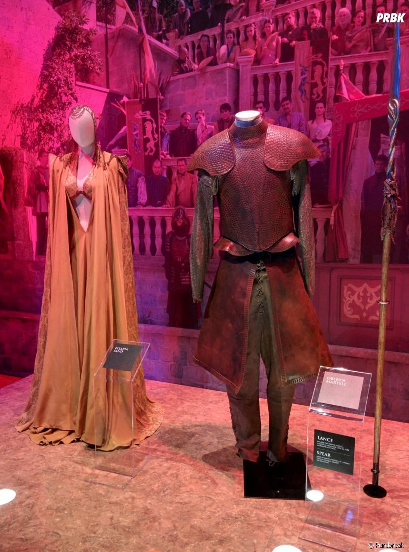 Game of Thrones : L'Exposition : des tenues portées par les Lannister