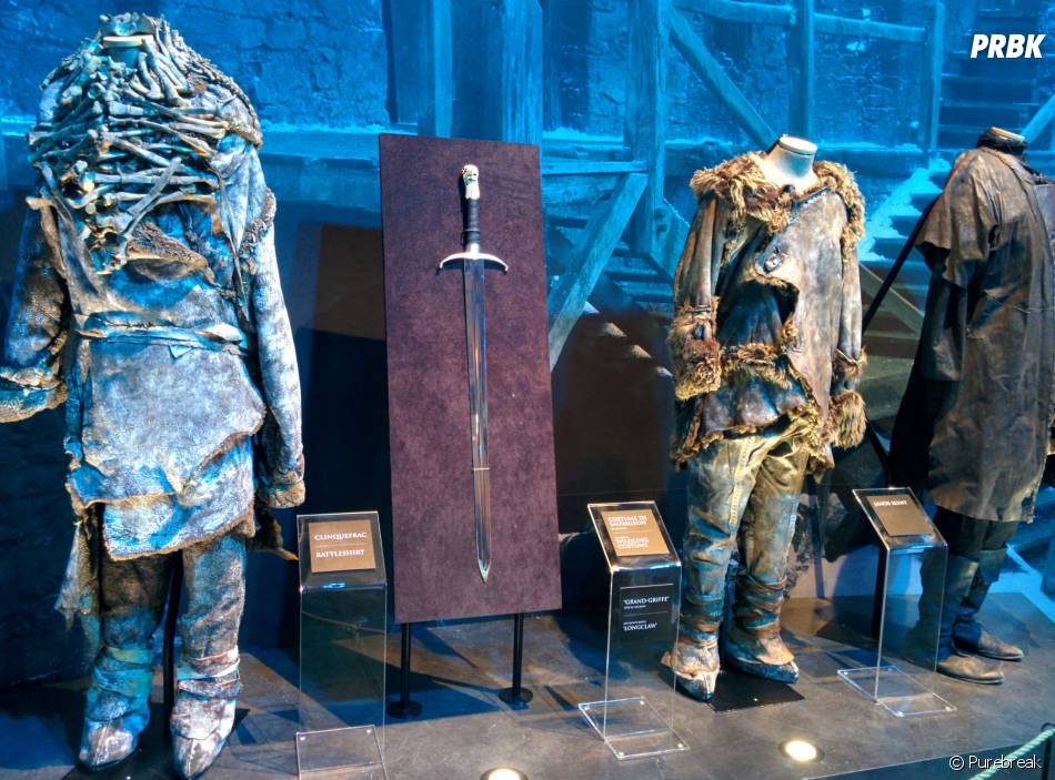Game of Thrones : L'Exposition : des tenues de Sauvageon