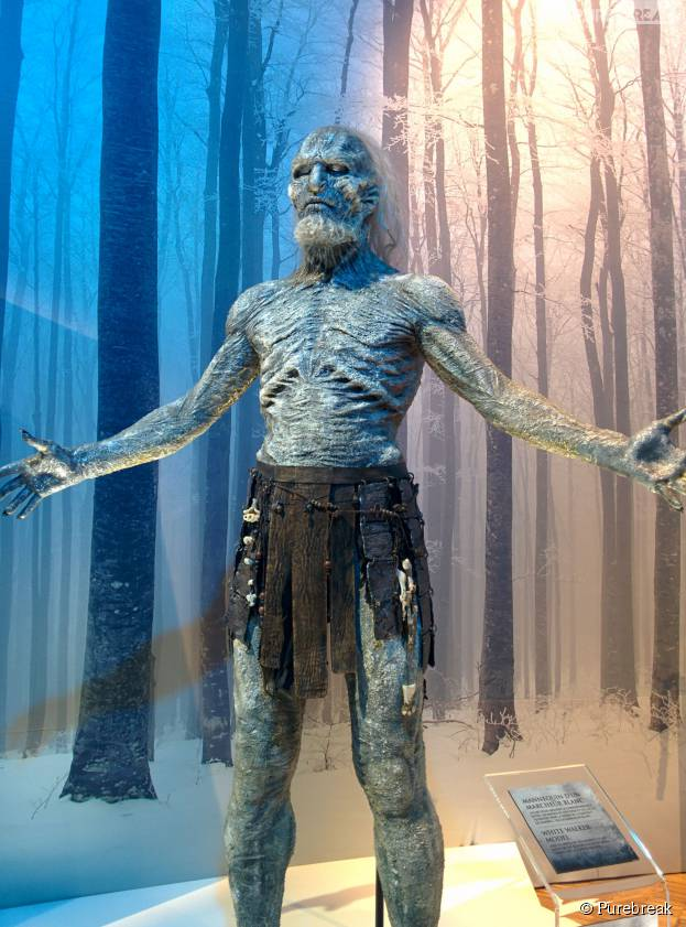 Game of Thrones : L'Exposition : une statue de Marcheur Blanc