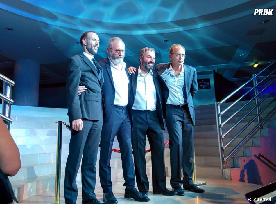 Game of Thrones : L'Exposition : l'inauguration s'est faite en présence de deux acteurs de la série (au centre)