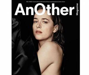 Dakota Johnson en couverture du magazine Another (Octobre 2015)