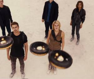 Divergente 3 : Theo James et Shailene Woodley sur une image de la bande-annonce