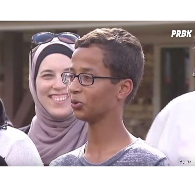 Ahmed, 14 ans, arrêté à cause d'une horloge