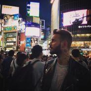 M. Pokora : vacances incognito en mode touriste au Japon