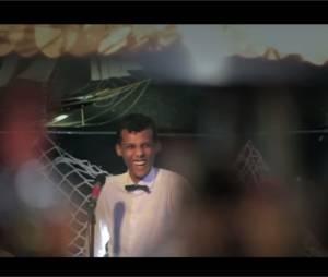 """Stromae sur une image extraite de sa série de vidéos """"Stromae Takes America"""""""