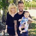 Steven (Les Anges 7) papa : photo de famille avec sa fille Lyvia et son ex