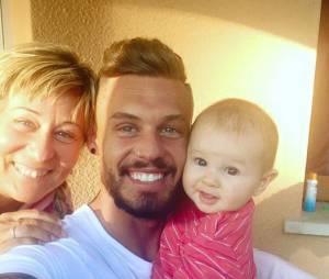 Steven (Les Anges 7) avec sa maman Corinne et sa fille Lyvia