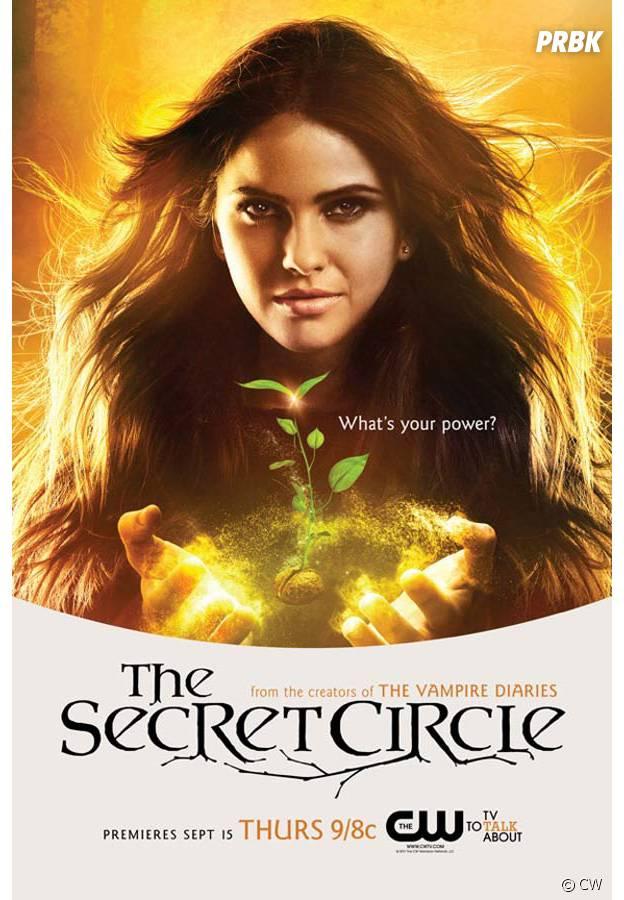 Shelley Hennig sorcière dans The Secret Circle