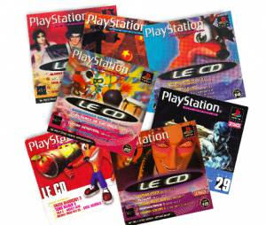 Les CD de démos de PlayStation