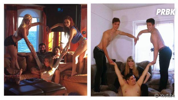Comparatif des photos de Dan Bilzerian et de LOLperv