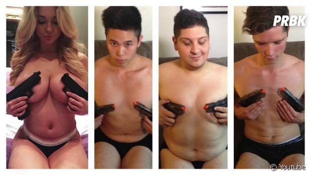 Comparatif des photos de Dan Bilzerian et de LOLperv, une chaîne d'humour YouTube