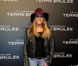 Capucine Anav à l'avant-première du film Le Labyrinthe : La Terre Brulée à Paris le mardi 29 septembre 2015 au Grand Rex