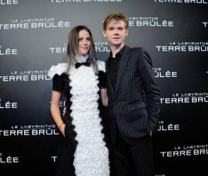 Thomas Sangster et Kaya Scodelario à l'avant-première du film Le Labyrinthe : La Terre Brulée à Paris le mardi 29 septembre 2015 au Grand Rex