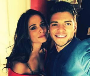 Lucie Lucas et Rayane Bensetti sur le tournage de la saison 6 de Clem