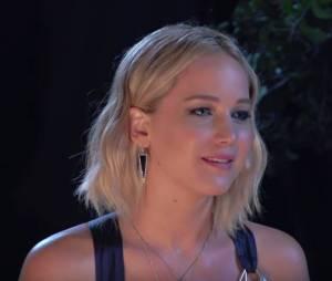 Jennifer Lawrence fait des confidences étonnantes lors d'une interview pour MTV News