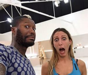 Djibril Cissé : après sa garde à vue, de retour à l'entraînement de Danse avec les stars avec Silvia Notargiacomo