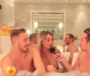 Aurélie Dotremont clashe Leila Ben Khalifa dans le bain de Jeremstar
