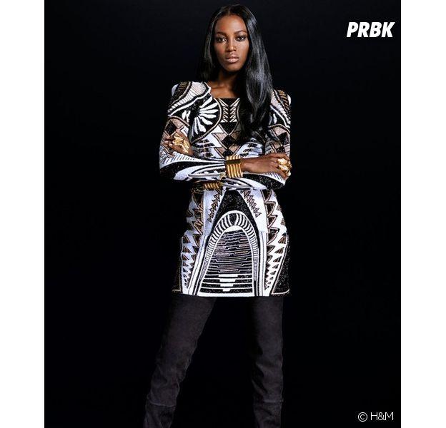 H&M x Balmain : le prix de cette robe est de 499€ pour la pièce la plus chère de la collection