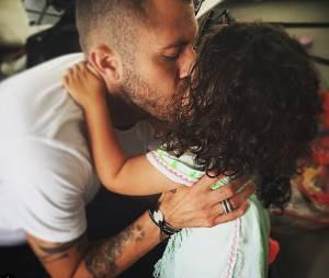 Jérémy Ménez : photo complice avec sa fille Maëlla sur Instagram