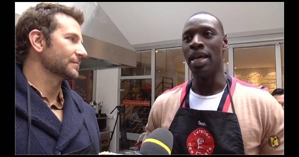 Omar sy et bradley cooper s 39 incrustent dans un cours de - Cours de cuisine a deux paris ...